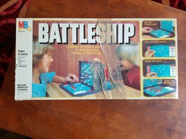 1978 Vintage Battleship Strategy Naval Board Game by Milton Bradley Comp... - $15.84
