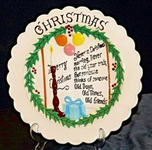 Christmas Commemorative Plate by Gare Inc AA20- CP2264 Vintage