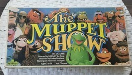 Vtg 1977 Parker Brothers The Muppet Show Board Game Original Box MISSING... - £6.23 GBP