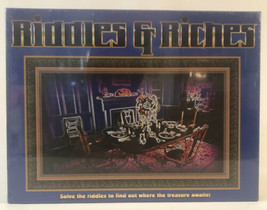 New Riddles & Riches Board Game 1998 By R & R Games (Solve The Riddle) - $18.99