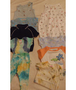 Infant Boys 9 Onesies Beach-1 Pants To Match One-Blue-Green-Orange-Size ... - $6.92