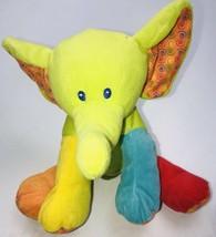 "First Impressions Elephant Plush Stuffed Animal 11"" Toy Sewn Eyes Soft Toy - $14.15"