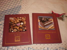 Cooking Club of America Ultimate Cookies & Bars Ultimate Chocolate Books lot 2 - $29.95