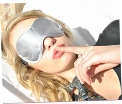 Sleep More Sleep Mask for Sleeping Disorders and Insomnia, Silver - $7.92