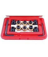 """HHIP 3900-0318 Steel 4-Piece T-Slot Clamping Nut Kit, 5/8"""" - $101.78"""