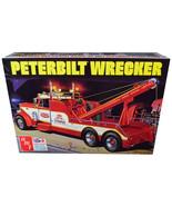 Skill 3 Model Kit Peterbilt Wrecker Tow Truck 1/25 Scale Model by AMT AM... - $77.21