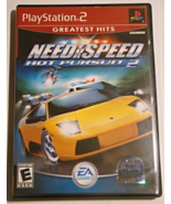 Playstation 2 - NEED FOR SPEED - HOT PURSUIT 2 (Complete with Manual) - $12.00