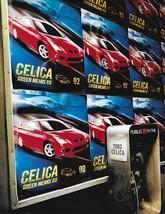 2002 Toyota CELICA sales brochure catalog 02 US GT GT-S - $10.00