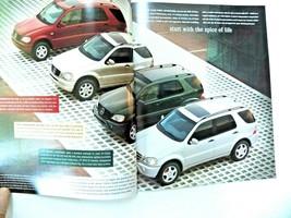 2001  mercedes ml   owners sales brochure w163  new original - $19.79