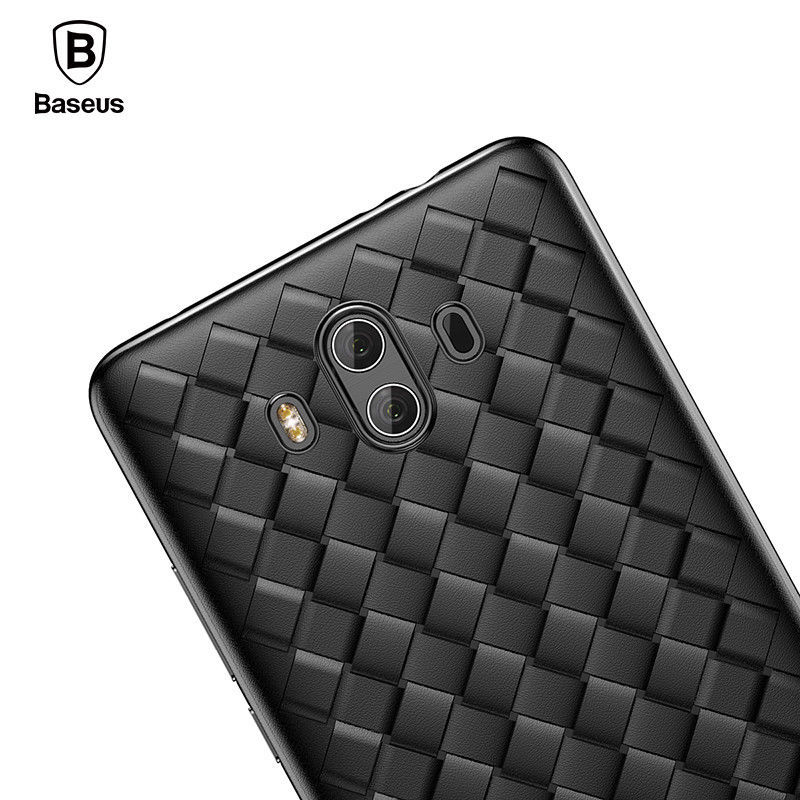 Primary image for Huawei Mate 10 Case Creative Grid Weaving Soft Silicone Pro Thin Smooth Back