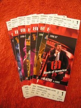 NBA Portland Trailblazers Regular Season & Playoffs Ticket Stubs $2.99 Each! - $2.99
