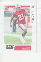 2019 PANINI SCORE FOOTBALL #351  Parris Campbell Rookie card RC 192382 - $0.98