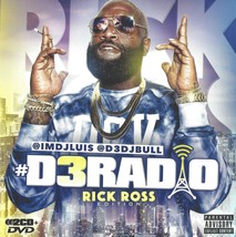 Rick Ross Mixtape - 2 CD + DVD with 37 Songs & 27 Music Videos - $7.99