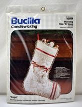 "Vintage Bucilla Angel Christmas Stocking Candlewicking Kit - Measures 15"" Long - $18.95"