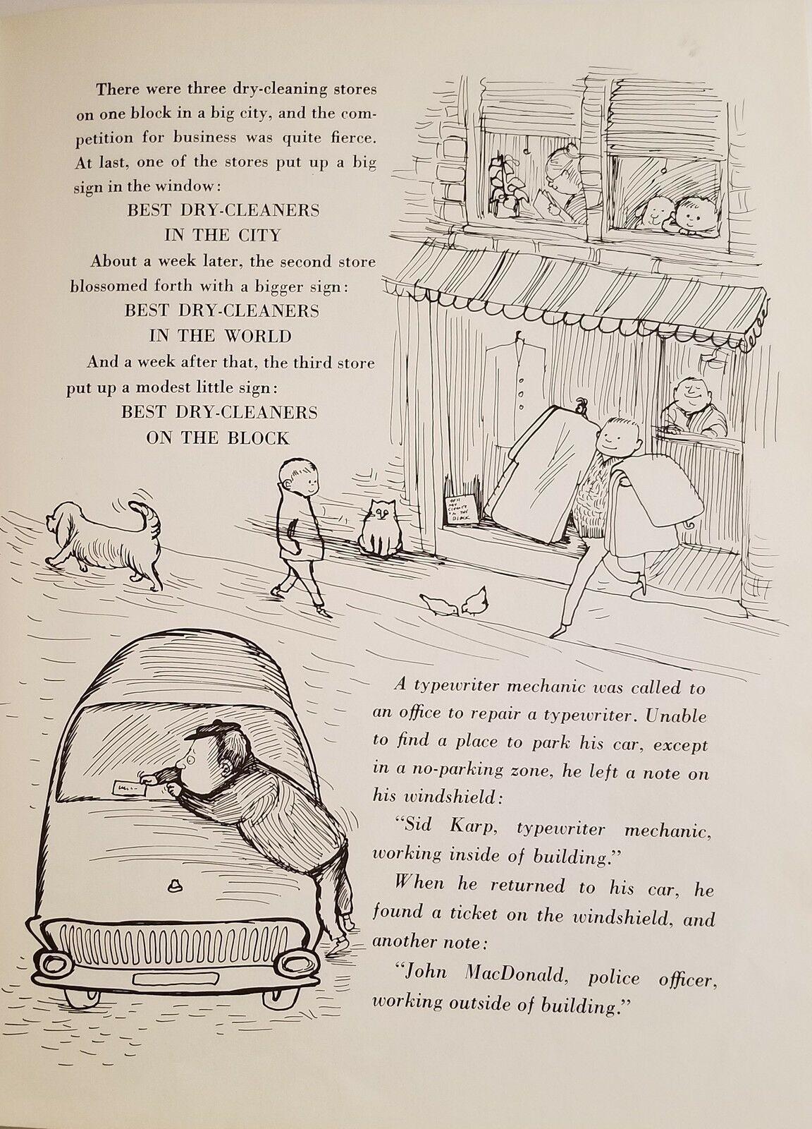 Tell Me Another Joke 1964 Ralph Underwood Susan Perl Vintage Children's Book