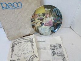 RECO COLLECTOR PLATE HUSH LITTLE BABY 1990 3415A 8TH SONGS OF CHILDHOOD ... - $4.90