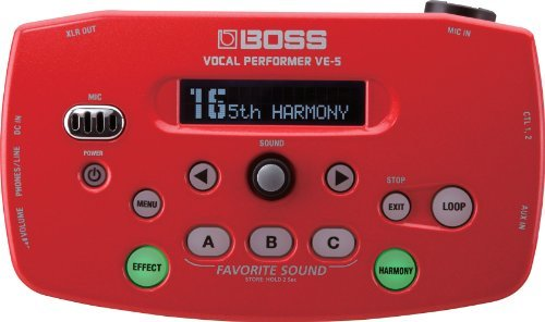 Primary image for BOSS Boss Vocal Performer Red VE-5-RD