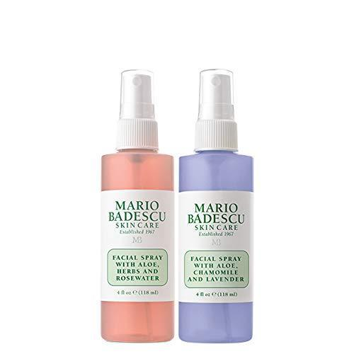 Mario Badescu Rosewater Facial Spray and Lavender Facial Spray Duo, 4 oz.
