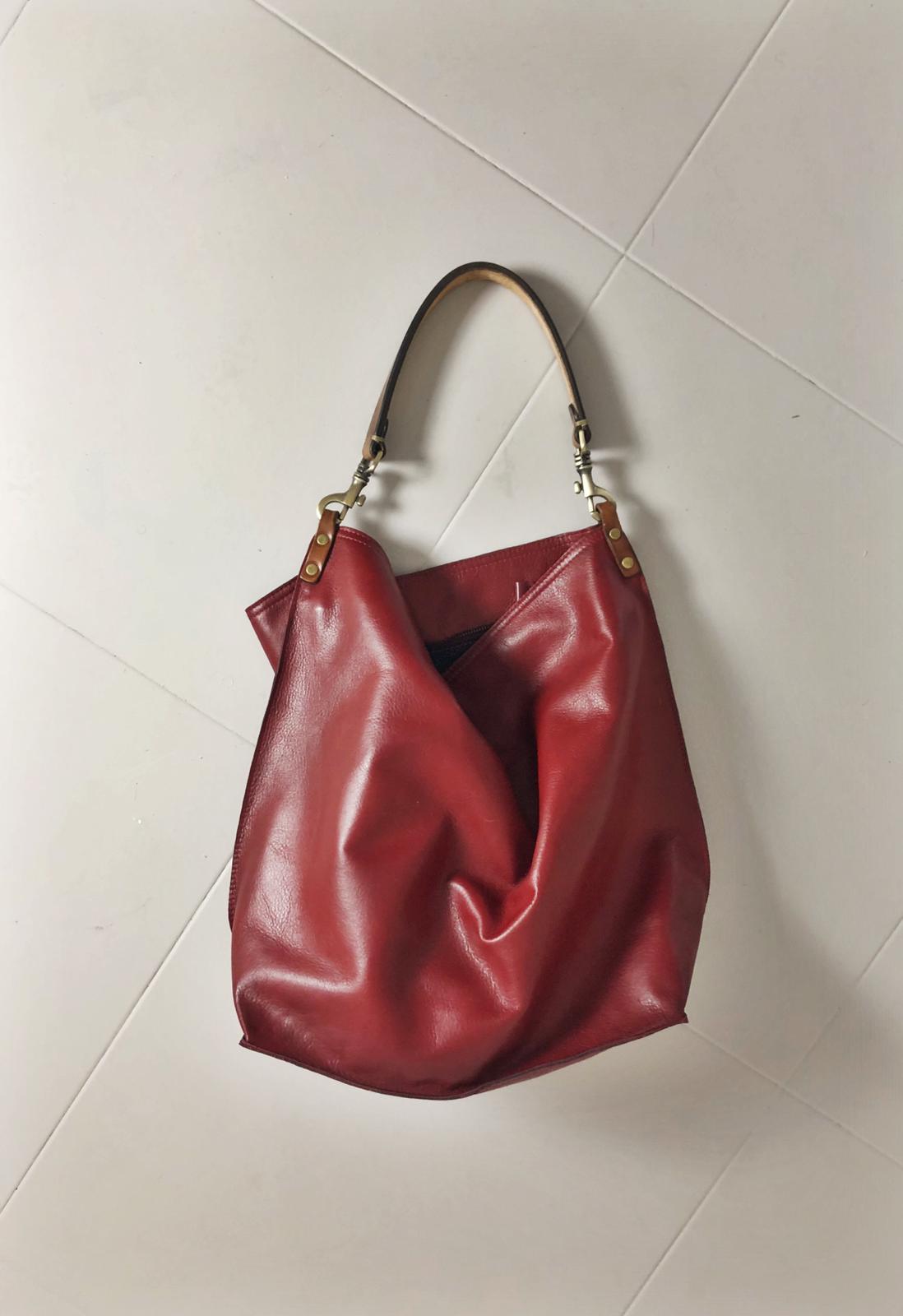 ALLEGRA BAG handmade leather bag image 5