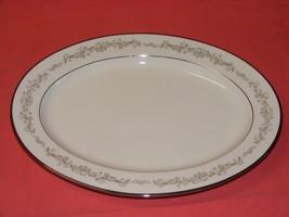 """Noritake Parkridge 13"""" Oval Serving Platter Fine Porcelain - $29.95"""