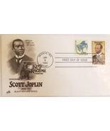 Offiicial First Day Issue Black Heritage Series Scott Joplin Jun 9 1983 - $3.95