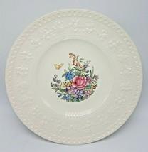 "Wedgwood Wellesley ""Tintern"" 10 7/8"" Dinner Plate - Excellent - $25.95"