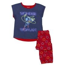 Wonder Woman 2-piece Youth Pajama Set Blue - $26.98