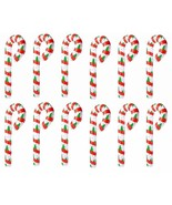 """Jumbo Inflatable Christmas Tree Candy Cane(12 Pack) 44"""""""