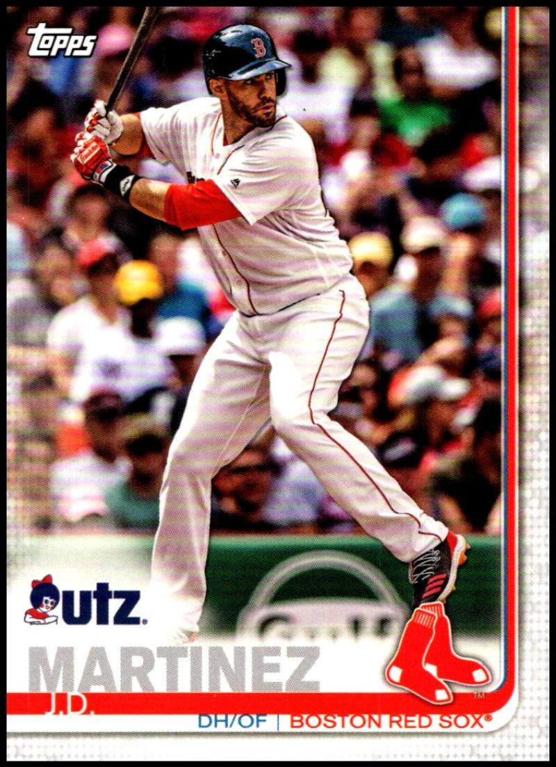 Primary image for 2019 Topps Utz Potato Chips Promo #27 J.D. Martinez NM-MT Boston Red Sox