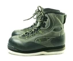 Orvis Fly Felt Sole Fishing Wading Boots Men's Sz 7 Med. Black/Gray (sb1... - $42.99