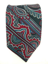 The American Edition Collection Mens Multicolor Paisley Tie Made in USA  - $12.16