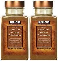 Kirkland Saigon Cinnamon 10.7 Oz Bottles Pack of 2 - 21.4 Oz Total