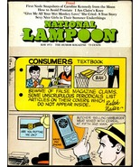 National Lampoon #38, May 1973 - Fraud issue, Monopoly Cheating Kit - $14.20