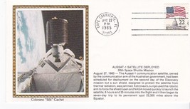 AUSSAT-1 SATELLITE DEPLOYED CAPE CANAVERAL FLORIDA AUG 27 1985 COLORANO ... - $2.98