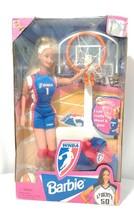 WNBA Barbie Doll Basketball Rebecca Lobo 1998 Mattel #20205 NIB - $20.56
