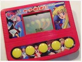 Pretty Soldier Sailor Moon R Bandai Handheld LCD portable game Watch Japan - $99.99