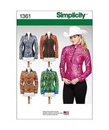 Simplicity Creative Patterns 1361 Misses' Knit Equestrian Performance Sh... - $26.95
