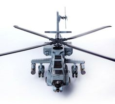 Academy 12129 AH-64A ANG South Carolina Plastic Attack Helicopter Hobby Model image 3