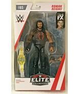 WWE Roman Reigns Elite Mattel Collection Series 65 Figure Championship B... - $14.48