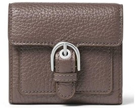 MICHAEL KORS NWT Cooper Caryall Cinder Leather Wallet Clutch Trifold - $69.29