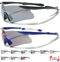 X-Loop Men Women Sport Wrap Rimless Skiing Cycling Running Sunglasses UV400 - $12.74