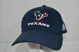 Houston Texans Blue Baseball Cap Adjustable Adidas - $19.35