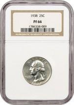 1938 25c NGC PR 66 - Washington Quarter - $295.85