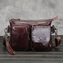 BDF 2017 New Style Genuine Leather Cowhide Bag Luxury Men Travel Bag - $57.97
