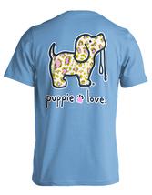 Puppie Love Rescue Dog Adult Unisex Short Sleeve Graphic T-Shirt, Leopard Pup image 1