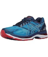 ASICS MENS GEL-NIMBUS 19 RUNNING SHOE DIVA BLUE/WHITE/INDIGO BLUE 9.5 M US - $128.69