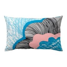 Ikea Doftranka Cotton Throw Cushion for Couch with Inner Cushion Multicolor - $18.38
