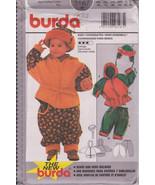 Burda 3167 Baby Coordinates Sizes 6 months to 3 years Eur 68-98 Jacket w... - $8.00