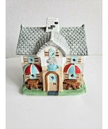 Coffee Shop Cafe Tealight Candle Holder Holiday Village PartyLite P0226 Vtg - $15.79