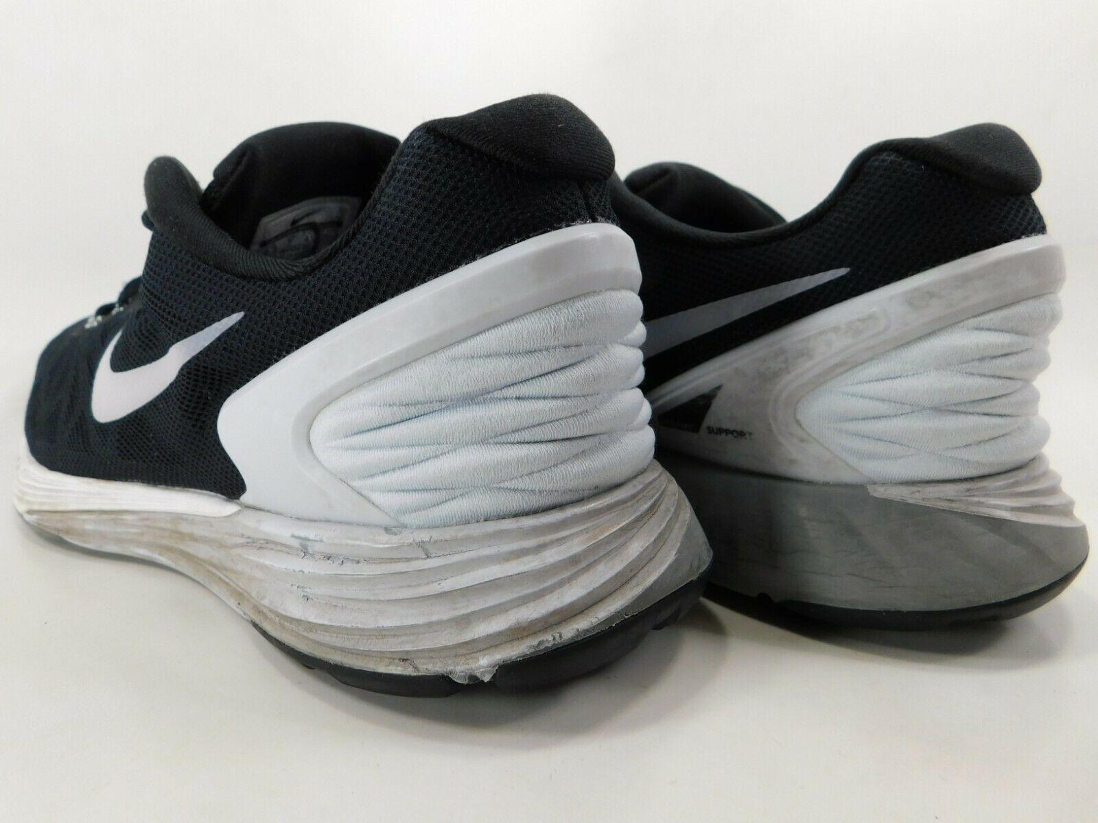 Nike Lunarglide 6 Taglia Us9.5 M (B) Eu 41 da Donna Corsa Scarpe Nere 654434-001